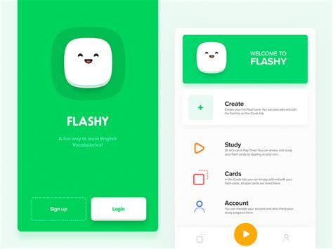 design app used on the block flashy app by aryana shakibaei dribbble