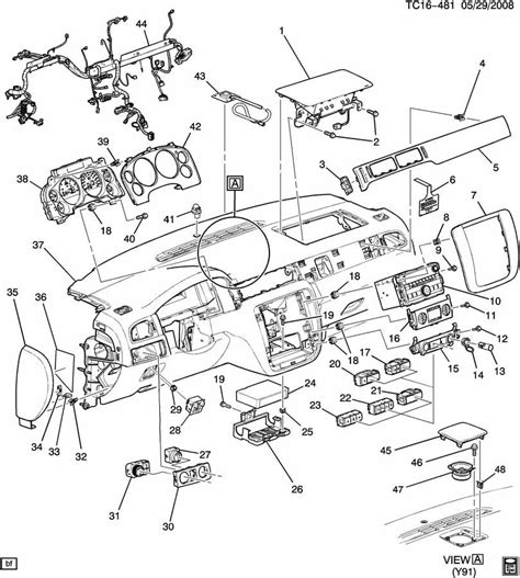 gmc parts diagram 2009 chevy silverado gmc 4 button switch