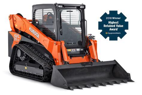 kubota construction equipment excavators  loaders