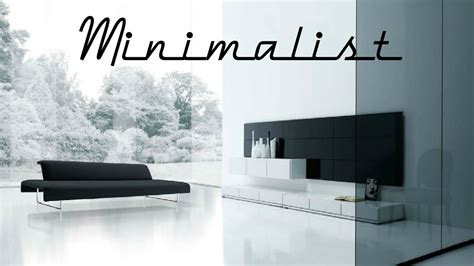 imagenes muebles minimalistas decoracion de salas minimalistas modernas 2016 youtube