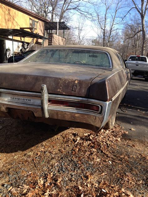 1970 plymouth fury gran coupe 6 3l for parts or