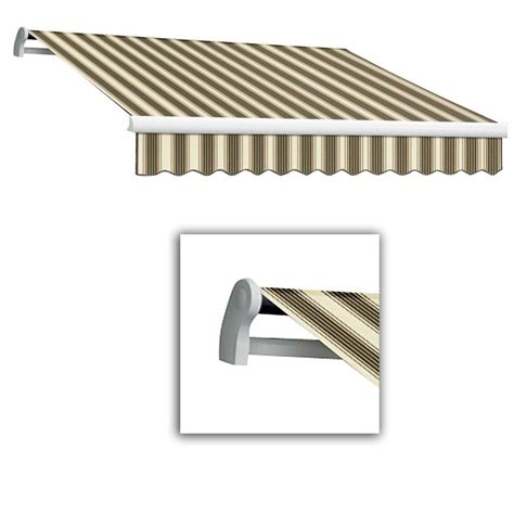 awntech awning awntech 12 ft lx maui right motor with remote retractable