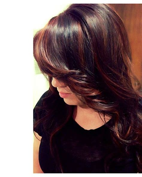 short hairstyles with peekaboo purple layer 159 best images about hair on pinterest bobs brown hair