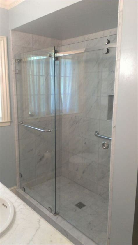 Crl Shower Doors Crl S Serentiy Series Glass Shower Enclosure With 3 8 Clear Tempered Glass Clear Glass Not