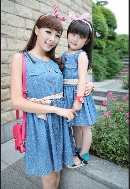 Baju Pasangan Cp B Jkt2280 model baju ibu dan anak perempuan