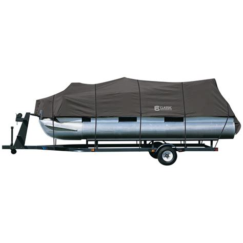 pontoon boat bimini top covers classic accessories stormpro pontoon boat cover 615553