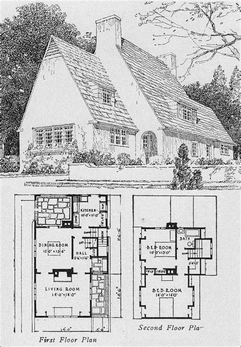 old house plans old house plans on pinterest best english cottage house