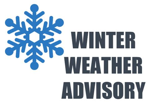 Winter Storm Warning And Winter Weather Advisory In Effect Until | winter storm warning and a winter weather advisory in effect