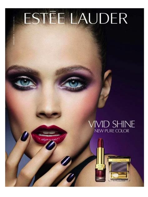 Sponsor Ad New Cosmetics Lip Shine by Makeup Ads In Magazines Makeup Advertisements In