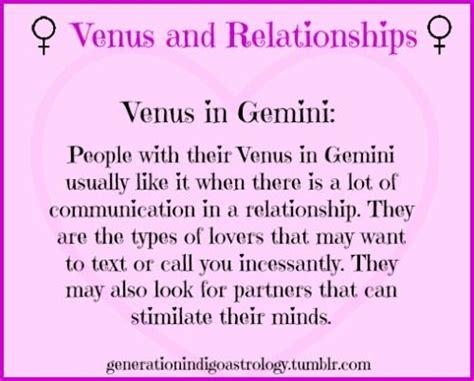 venus and relationships venus in gemini astrology
