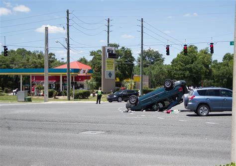 car crash ocala fl ocala post ticketed for highway 200 crash