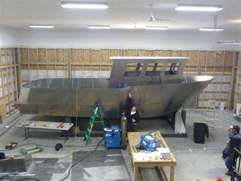 aluminum catamaran boat kits fishing boats plans work boat plans steel kits power boat