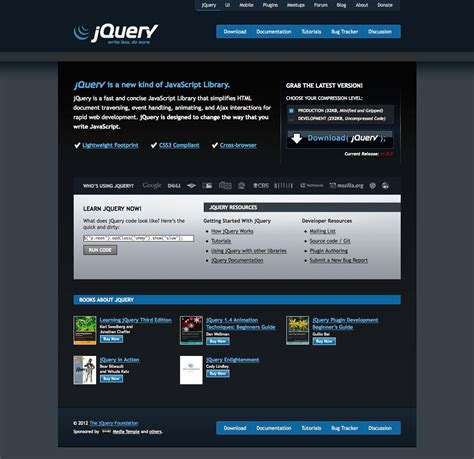 Update The Jquery Version Of Your Store Mini Template System Top Free Jquery Templates For Websites