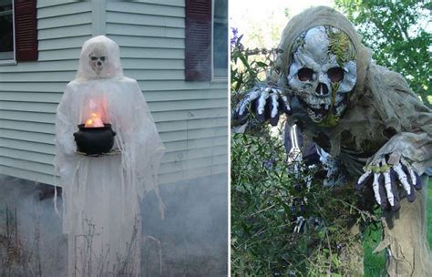 Scary Outdoor Decorations by Outdoor Decorating Ideas For Some Cool