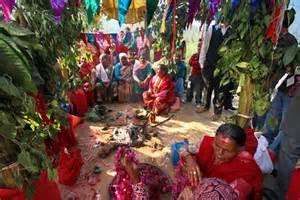 Backyard Wedding Food Wedding Puja In Nepal