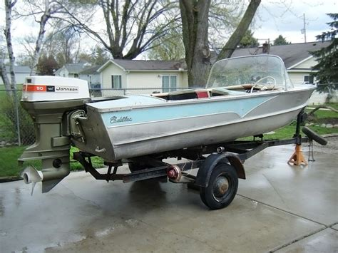 1957 wolverine 16 aluminum boat for sale in the other cadillac 1957 cadillac custom boat