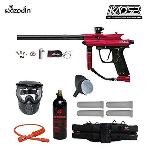 Kaos Since Day One Sport azodin kaos 2 silver paintball gun package black