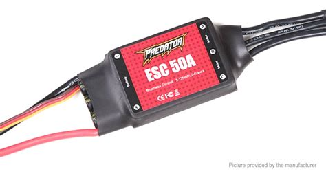Fms Predator Esc 40a With Sbec 3a 16 83 fms predator 50a brushless esc electric speed