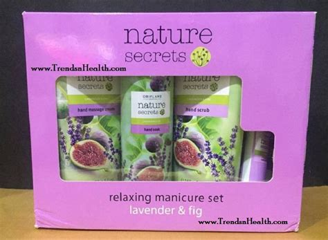 Nail Buffer Set Oriflame oriflame nature secrets manicure set review trends and