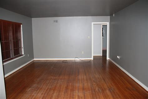 grey painted living room it s tiiiiime the official before house tour rosemary on the tv