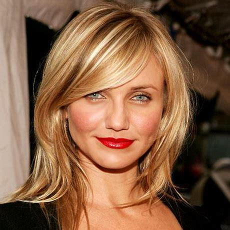 haircuts for round face medium length hair medium length haircut for round face