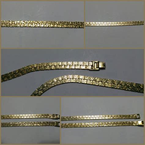 cadenas de oro tejido cubano cadena tejido cubano doble vista chapa de oro 14k