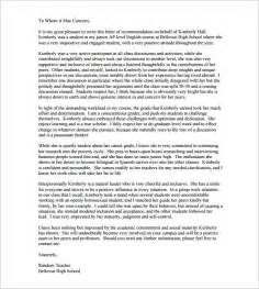 Reference Letter Format For Teachers Letters Of Recommendation For 26 Free Sle