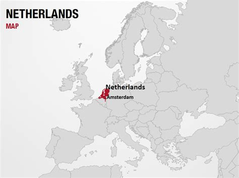 netherlands globe map netherlands on world map powerpoint map slides