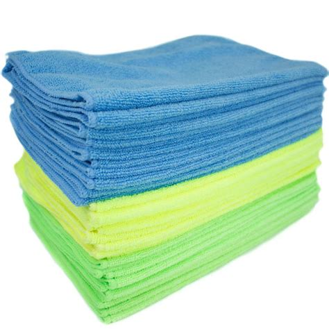 household surface microfiber cleaning cloths