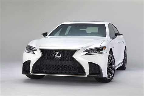 lexus is f sport 2018 first look 2018 lexus ls 500 ls 500h f sport