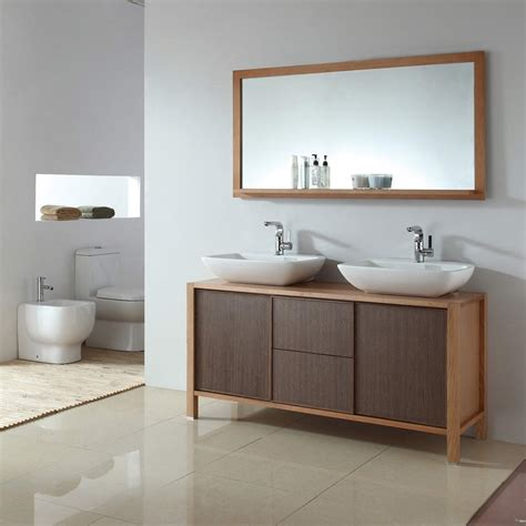 bathroom vanity with mirror double bathroom vanity solid dark wood free shipping bari