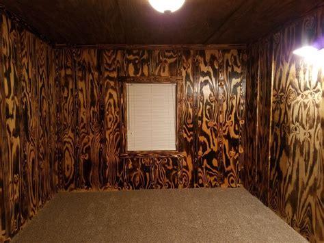 burnt plywood   polyurethane coat   diy