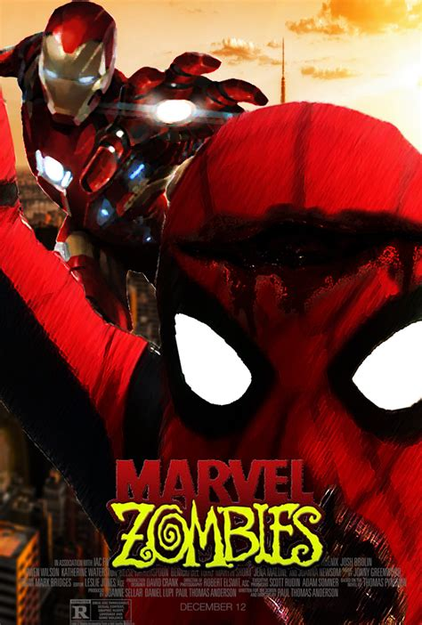 marvel zombi film marvel zombies movie poster fan made by thedarkrinnegan