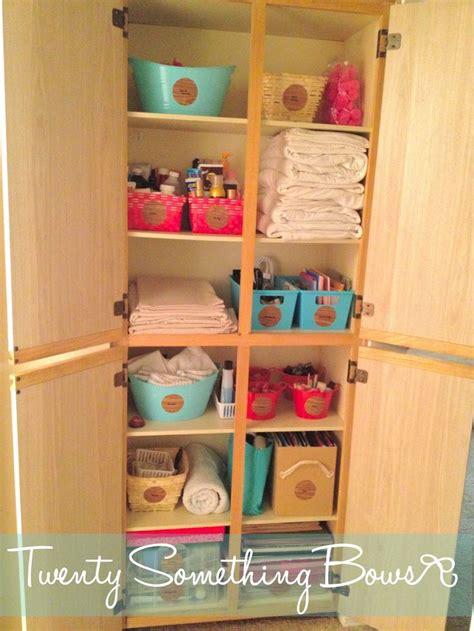 diy bathroom closet dollar tree organization creativity diy good ideas