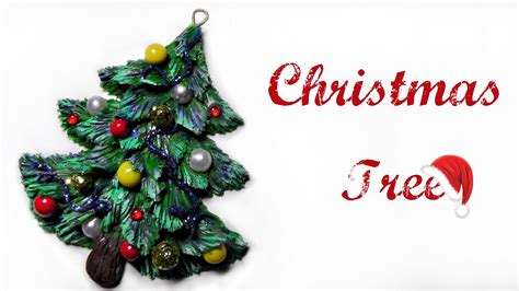 how to make simple clay christmas trees polymer clay tutorial tree