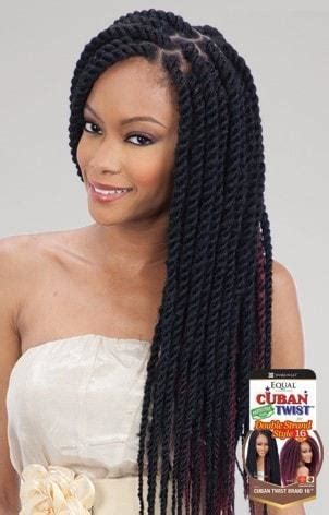 cuban double strand braided in freetress equal synthetic hair braids double strand style