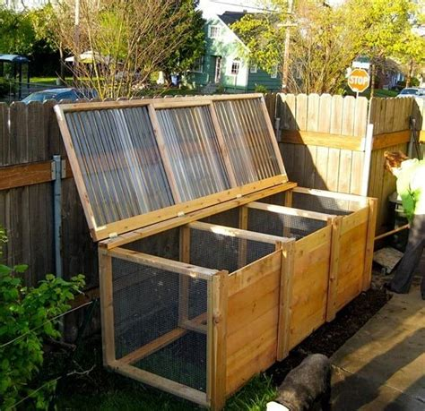 the unwaste station a cool diy compost bin apartment