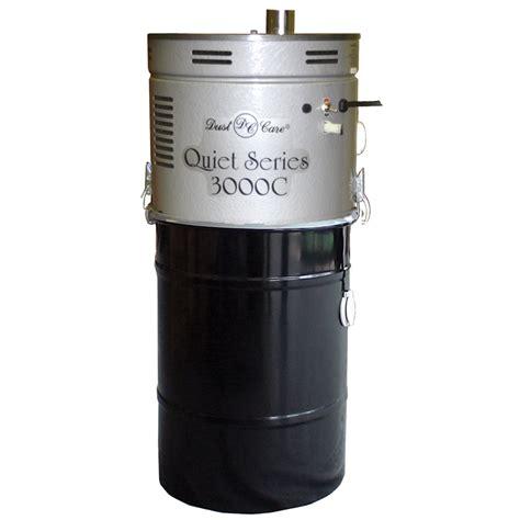 vacuum dust dust care central vac 3000c quiet 2 vacuum motor