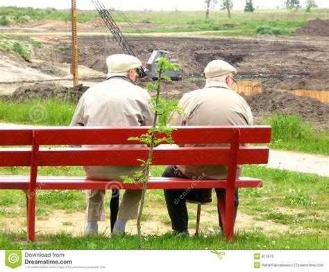 sitting on the bench two old man sitting on the bench stock photo image 873970
