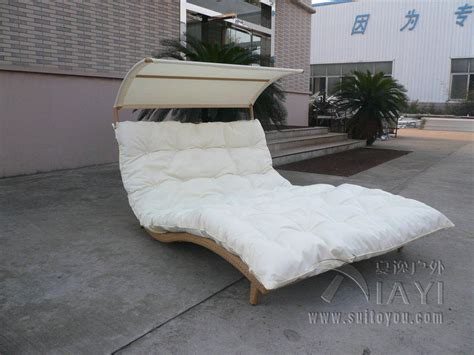 Furniture Transport by Rattan Daybed Chaise Lounge Set Resin Wicker Patio