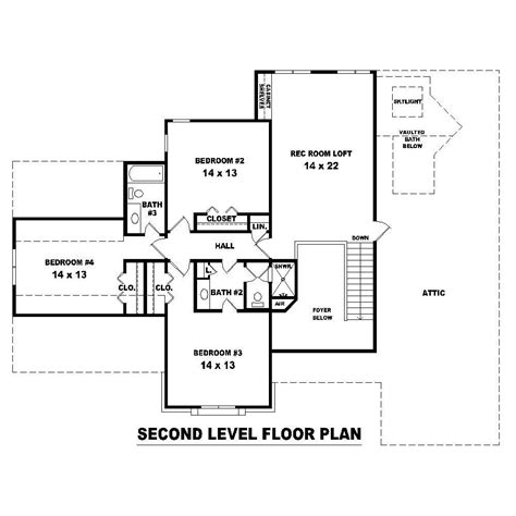 second story floor plans house plans home design su b2040 1259 572 fc