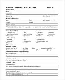First Aid Report Form Samples First Aid Incident Report Form Template First Aid