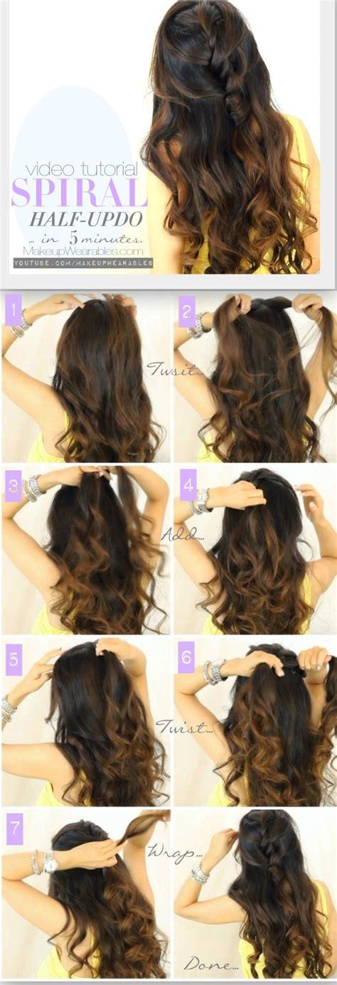 Daily half up hairstyles hair tutorial video jpg