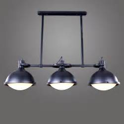 Icebergs Dining Room And Bar Loft American Vintage E27 Industrial Pendant Light Antique