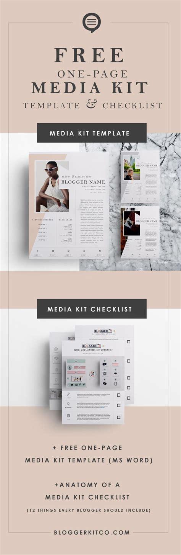 indesign template media kit musician dj press kit resume indesign template best kits