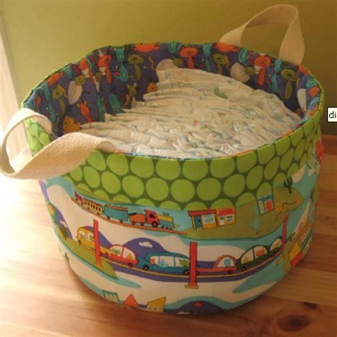 porta pannolini in stoffa come cucire cesta portapannolini tutorial cartamodello