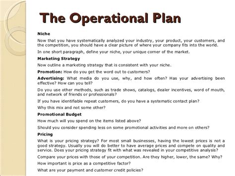 operational plan template for business plan business plan operational plan report574 web fc2
