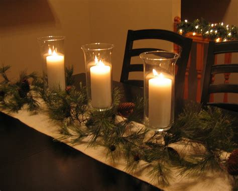 Candle Runner Centerpiece Dwelling Cents Easy Decor Ideas