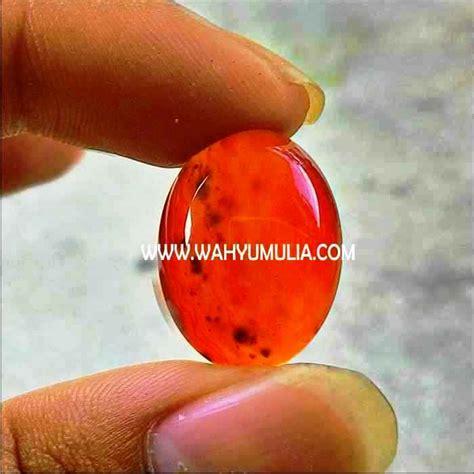 Batu Akik Baron Merah As142 batu yaman merah baron 5 wahyu mulia
