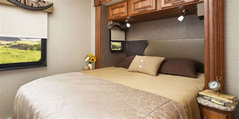 rv with king size bed 2017 precept class a motorhomes jayco inc